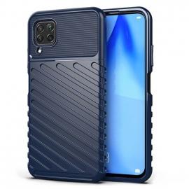 OEM Thunder Flexible Tough Rugged Cover TPU Case Huawei P40 Lite - Blue