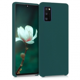 KW TPU Soft Flexible Rubber Samsung Galaxy A41 - Turquoise Green (52301.184)