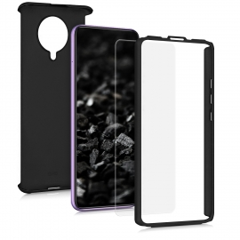 KW Full Body Case & Tempered Glass Xiaomi Pocophone F2 Pro - Black (52451.68)