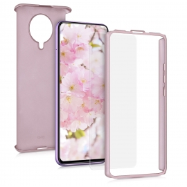 KW Full Body Case & Tempered Glass Xiaomi Pocophone F2 Pro - Metallic Rose Gold (52451.31)