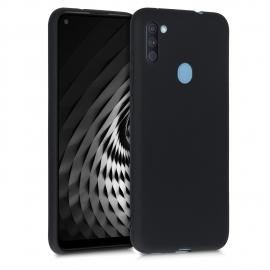 KW TPU Silicone Case Samsung Galaxy A11 - Black Matte (52169.47)