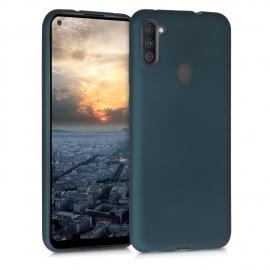 KW TPU Silicone Case Samsung Galaxy A11 - Metallic Teal (52174.14)
