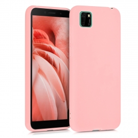 KW TPU Silicone Case Huawei Y5p - Rose Gold Matte (52527.89)