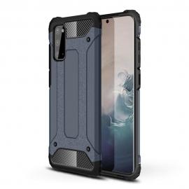 OEM Hybrid Armor Case Tough Rugged Samsung Galaxy A41 - Blue