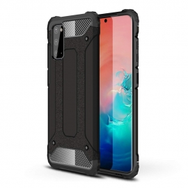 OEM Hybrid Armor Case Tough Rugged Samsung Galaxy A41 - Black