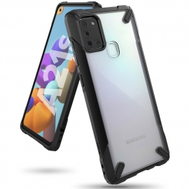 Ringke Fusion-X Design Case Samsung Galaxy A21s - Black