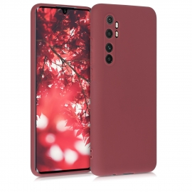 KW TPU Silicone Case Xiaomi Mi Note 10 Lite - Maroon Red (52443.160)