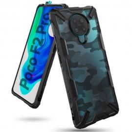 Ringke Fusion-X Design Case Xiaomi Pocophone F2 Pro - Camo Black
