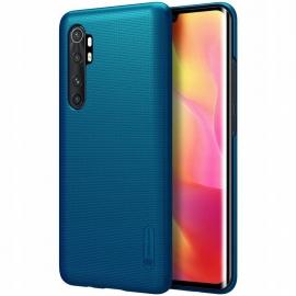 Nillkin Super Frosted Shield Case & kickstand Xiaomi Mi Note 10 Lite - Blue