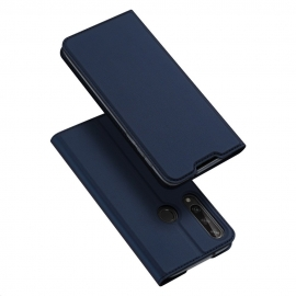 DuxDucis SkinPro Bookcase Huawei Y6p - Blue