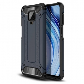 OEM Hybrid Armor Case Tough Rugged Xiaomi Redmi Note 9 - Blue