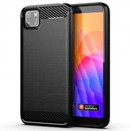OEM Carbon Fiber Case Huawei Y5p - Black