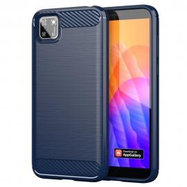 OEM Carbon Fiber Case Huawei Y5p - Blue