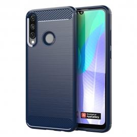 OEM Carbon Fiber Case Huawei Y6p - Blue