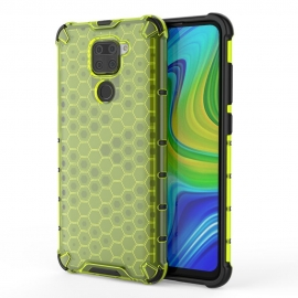 OEM Honeycomb Armor Case with TPU Bumper Xiaomi Redmi Note 9 - Green