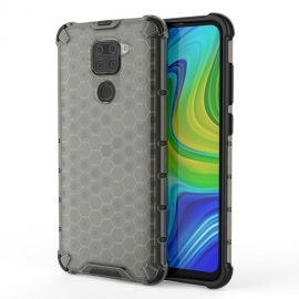 OEM Honeycomb Armor Case with TPU Bumper Xiaomi Redmi Note 9 - Black