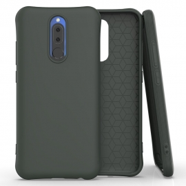 OEM Color Soft Back Case Gel Cover TPU Xiaomi Redmi 8/8A - Dark Green