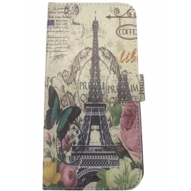OEM Book Case iPhone 6/6s Plus - Eiffel Tower