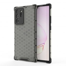 OEM Honeycomb Armor Case with TPU Bumper Samsung Galaxy Note 20 - Black