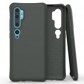 OEM Color Soft Back Case Gel Cover TPU Xiaomi Mi Note 10 - Dark Green