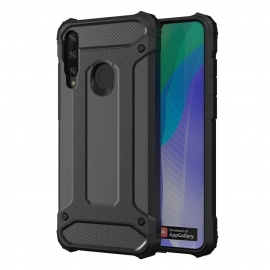 OEM Hybrid Armor Case Tough Rugged Huawei Y6p - Black