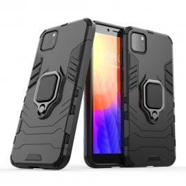 OEM Ring Kickstand Armor Huawei Y5p - Black