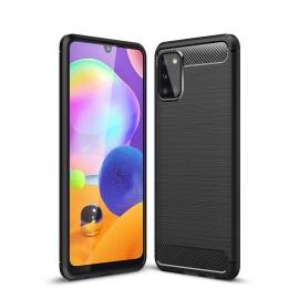 Tech-Protect TPU Carbon Case Samsug Galaxy A31 - Black