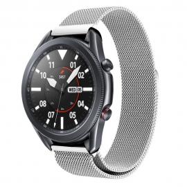 Tech-Protect Milaneseband Μεταλλικό Λουράκι Samsung Galaxy Watch 3 45mm - Silver (72195)