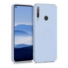 KW TPU Silicone Case Huawei P40 Lite E - Light Blue Matte (52534.58)