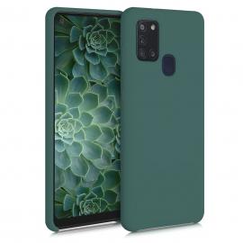 KW TPU Soft Flexible Rubber Samsung Galaxy A21s - Blue Green (52565.171)
