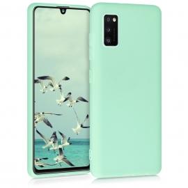 KW TPU Silicone Case Samsung Galaxy A41 - Pastel Green (52251.176)