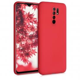 KW TPU Silicone Case Xiaomi Redmi 9 - Red Matte (52766.51)
