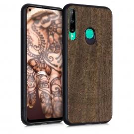 KW Wooden Case Huawei P40 Lite E - Indian Sun Dark Brown (53118.01)
