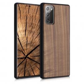 KW Wooden Case TPU bumper Samsung Galaxy Note 20 - Dark Brown (52839.18)