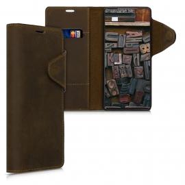 kalibri Wallet Case Samsung Galaxy Note 20 - Brown (53165.05)