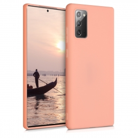 KW TPU Silicone Case Samsung Galaxy Note 20 - Coral Matte (52837.56)