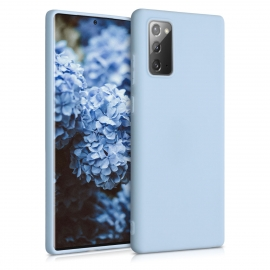 KW TPU Silicone Case Samsung Galaxy Note 20 - Light Blue Matte (52837.58)