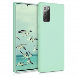 KW TPU Silicone Case Samsung Galaxy Note 20 - Mint Matte (52837.50)
