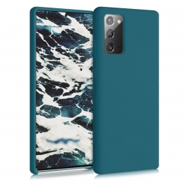 KW TPU Soft Flexible Rubber Samsung Galaxy Note 20 - Teal Matte (53166.57)