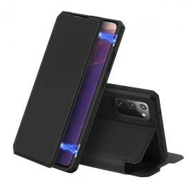 DuxDucis Skin X Bookcase Samsung Galaxy Note 20 - Black