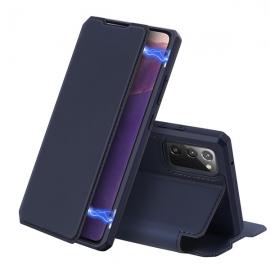 DuxDucis Skin X Bookcase Samsung Galaxy Note 20 - Blue