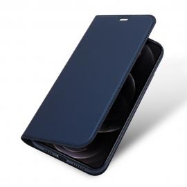 DuxDucis SkinPro Wallet Case iPhone 12 Pro Max - Blue