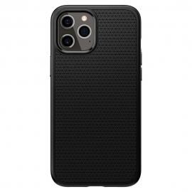 Spigen Liquid Air Back Cover iPhone 12 Pro Max- Black (ACS01617)