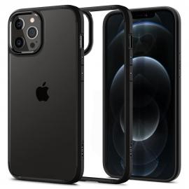 Spigen Ultra Hybrid iPhone 12 / 12 Pro - Matte Black (ACS01703)