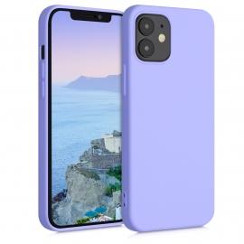 KW TPU Silicone Case iPhone 12 Mini - Light Lavender (52711.139)