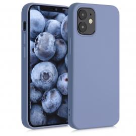 KW TPU Silicone Case iPhone 12 Mini - Blue Grey (52711.12)