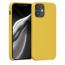 KW TPU Soft Flexible Rubber iPhone 12 Mini - Honey Yellow (52640.143)