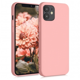 KW TPU Silicone Case iPhone 12 Mini - Light Pink Matte (52711.123)