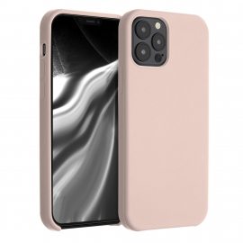 KW TPU Soft Flexible Rubber iPhone 12 / 12 Pro - Dusty Pink (52641.10)