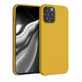 KW TPU Soft Flexible Rubber iPhone 12 Pro Max - Honey Yellow (52644.143)